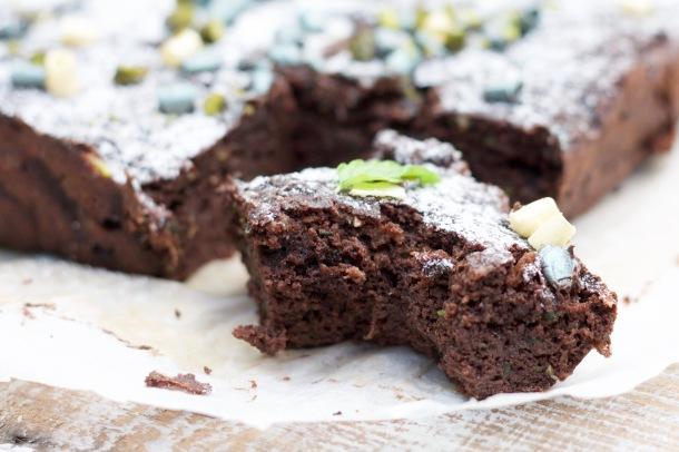 Sukkerfri og saftig squashchokoladekage med kanel og kardemomme