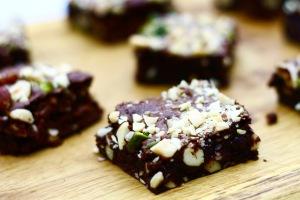 Luksus Brownies med nødder